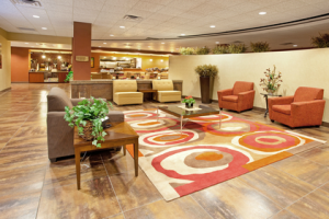 Hotel Lobby at Holiday Inn