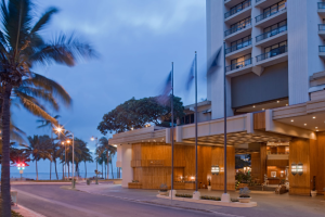 Exterior View of Hyatt Regency Waikiki Beach Resort and Spa