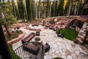 Rental patio at Park City Rentals by Owner.