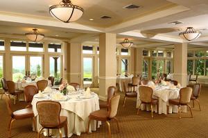 Garden Room at Grand Cascades Lodge at Crystal Springs Resort.