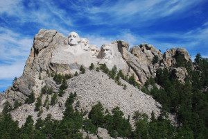 Mount Rushmore near The Lantern Inn.