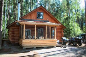 Cabin at Argyle Lake Lodge.