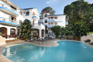 Exterior view of Royal Goan Beach Club at Monterio.