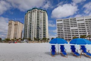 Beach view at Newman-Dailey Resort Properties, Inc.