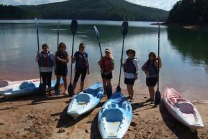Kayaking at Paradise Hills Resort and Spa.