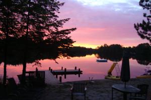 Sunrise at Hidden Valley Inn & Resort.