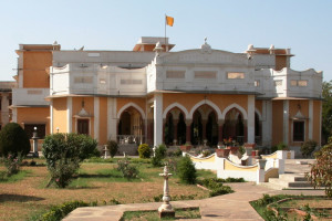 Exterior view of Bhanwar Vilas Palace.