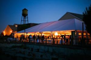 Reception Tent at Semiahmoo Resort