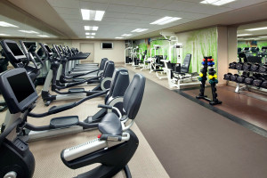 Fitness room at The Westin Lake Las Vegas Resort & Spa.