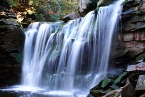 Waterfall near Windwood Fly-In Resort.