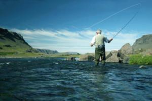 River fishing at The Inn on Fall River.