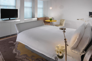 Guest room at Sanderson London.