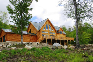 Vacation rental exterior at Franconia Notch Vacations Rental & Realty.