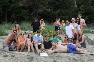 Family reunions at Tigh-Na-Mara Resort.