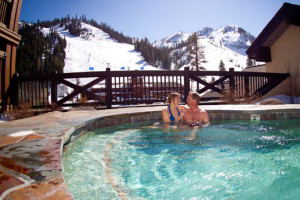 Outdoor Pool at The Village at Squaw Valley