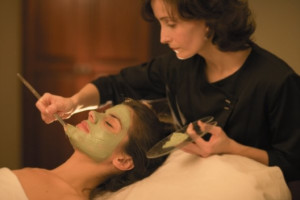 Spa services at The Osthoff Resort.