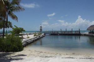 Ocean view at Coral Bay Resort.