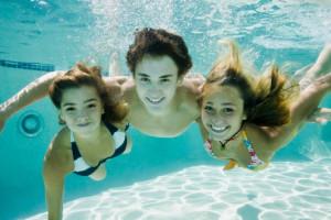 Swimming at Doral Arrowwood.