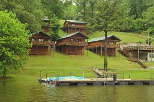 Cabins at Holiday Hills Resort.
