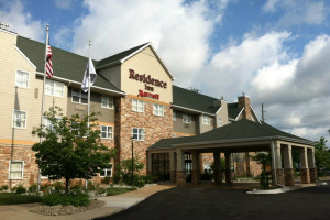 Exterior view of Residence Inn Ann Arbor North.