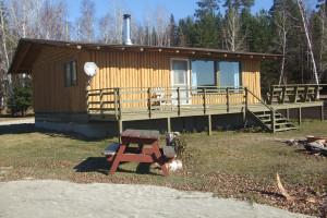 Cabin at Kanipahow Wilderness Resort