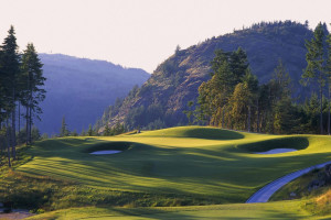Golf course near Sooke Harbour Resort & Marina.
