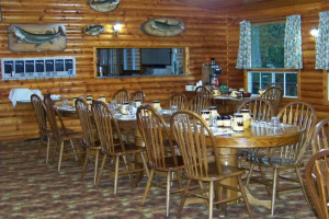 Dining Room at Canada North Lodge