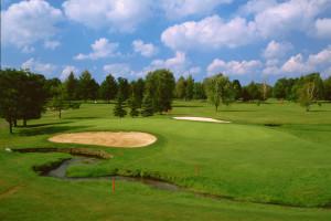Golf course at Fairway Suites.