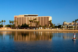 Exterior view of Marina del Rey Marriott.