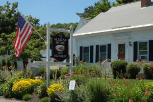 Exterior view of Almost Home Inn Ogunquit.
