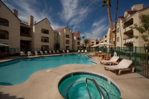 Outdoor pool at Holiday Inn Club Vacations at Desert Club Resort.