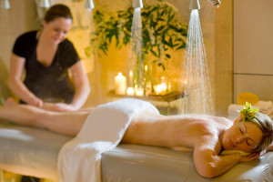 Spa massage at Mirror Lake Inn Resort & Spa.