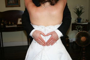 Wedding at Holladay House Bed & Breakfast.