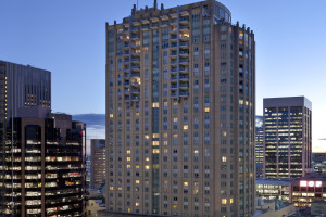 Exterior view of Swissotel Sydney.