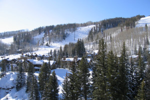 Ski slopes at Antlers At Vail.