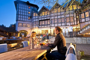 Dining at Dorint Hotel & Resort Winterberg-Neuastenberg.