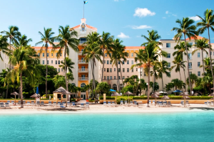 Exterior view of British Colonial Hilton Nassau.