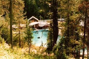 Exterior View of Silver Creek Plunge