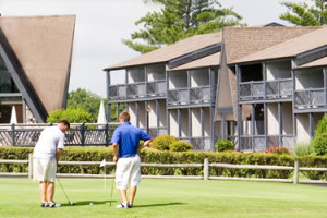 Playing Golf at Dogwood Hills Golf Resort