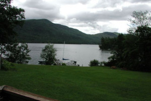 View from Northern Lake George Resort.