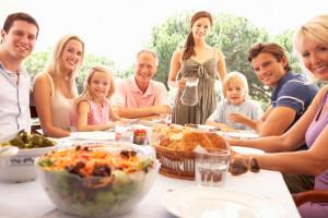 Family reunion at Darien Lake Resort.