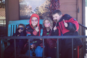 Family at Resort Properties of Angel Fire.
