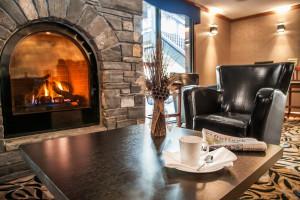 Lobby at Charlton's Banff.