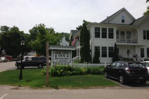 Exterior view of Cedar Court Inn.