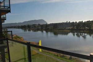 Waterfront view at Beachhouse Vacation Rentals.