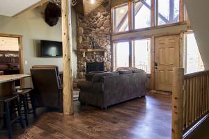Great room at Royal Moose Lodge.
