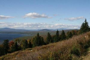 Beautiful view near Bald Mountain Camps Resort.