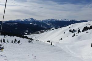 Skiing at Westwind at Vail.