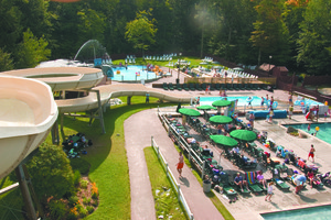 Waterpark at Smugglers' Notch Resort.