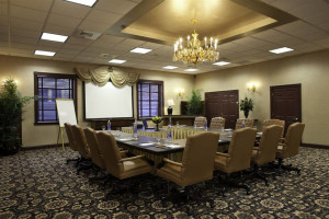Conference room at The Chateau Inn & Suites.